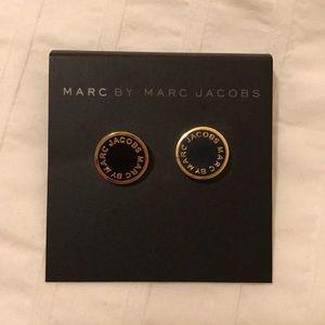 Marc Jacobs Enamel Disc Stud Earrings